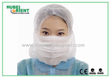 China Protective Soft Surgical Disposable Head Cap , Disposable Hair Nets supplier