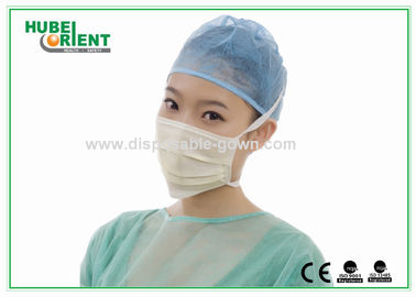 China CE / ISO13485 Disposable Face Mask Surgical Mouth Mask For Hospital supplier