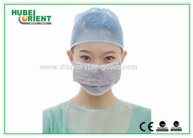 4ply Anti Dust Black Active Carbon Disposable Face Mask For Industrial