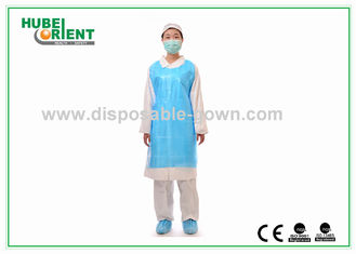 Various Colors PE Apron for Medical Examination Food Industry Household
