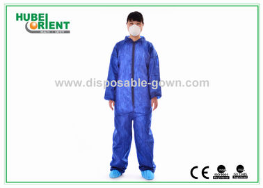 China Nonwoven Flame Retardant Disposable Coveralls For Asbestos Removal supplier