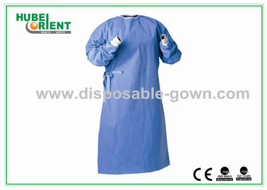 Against Liquid permeation Disposable Surgical Gowns , Dark Blue
