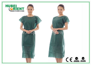 China Nonwoven Hospital Isolation Gowns / PP Nursing Hospital Gown For Women , CE Standard supplier