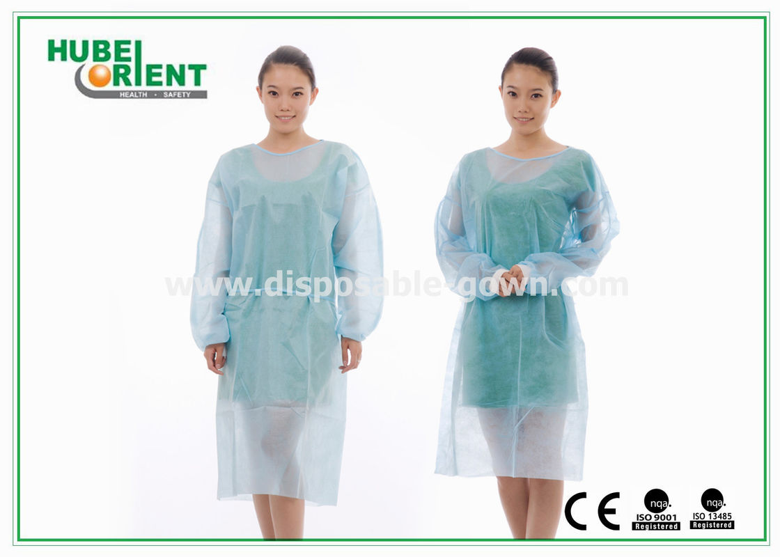 Sterile Reinforce SMS Disposable Isolation Gowns with Elastic Wrist