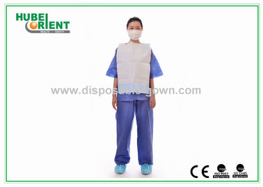 China Comfortable Adults Clinic Disposable Dental Bibs For Hospital , Eco - Friendly distributor