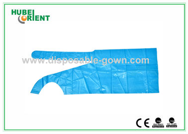 China Polythene Disposable Aprons , Waterproof Plastic Colored Aprons distributor