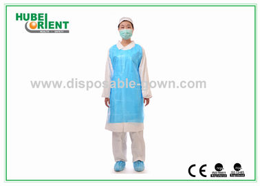 China Various Colors PE Apron for Medical Examination Food Industry Household distributor
