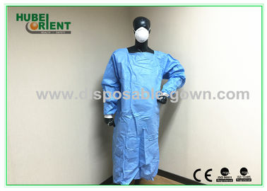 China Sterile Ultrasonic Disposable Surgical Gowns with Knitted Wrist for Operation distributor