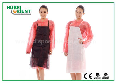 China Medical Nonwoven Disposable Aprons for Hospital Food Processing / One Time Use PP Aprons distributor