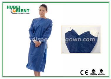 China Disposable Surgical Isolation Gown / Custom Hospital Gowns With PP SMS Material distributor
