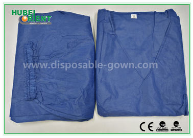 China Fashionable Hospital Nurse Scrub Suit Soft and Breathable SMS Material distributor