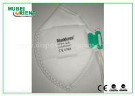 CE Folded FFP1 Disposable Face Mask without Valve , Non irritating